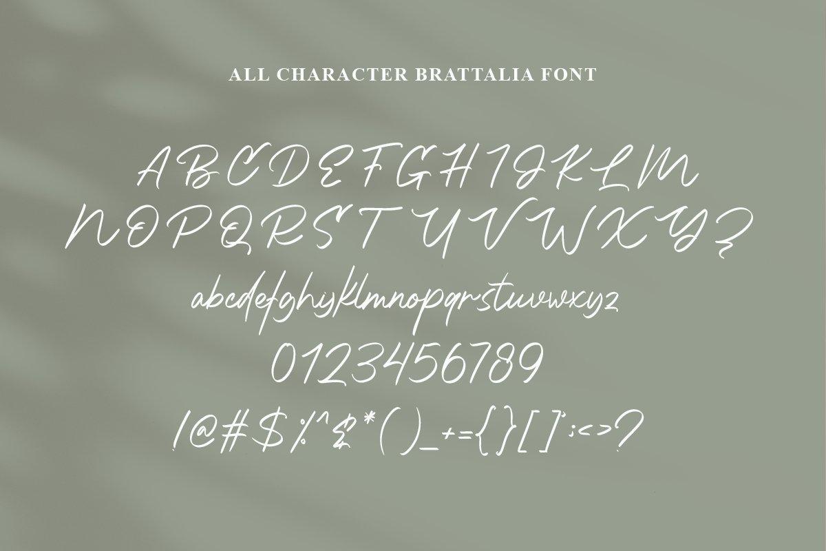Brattalia Font - EXTRA SWASH example image 5