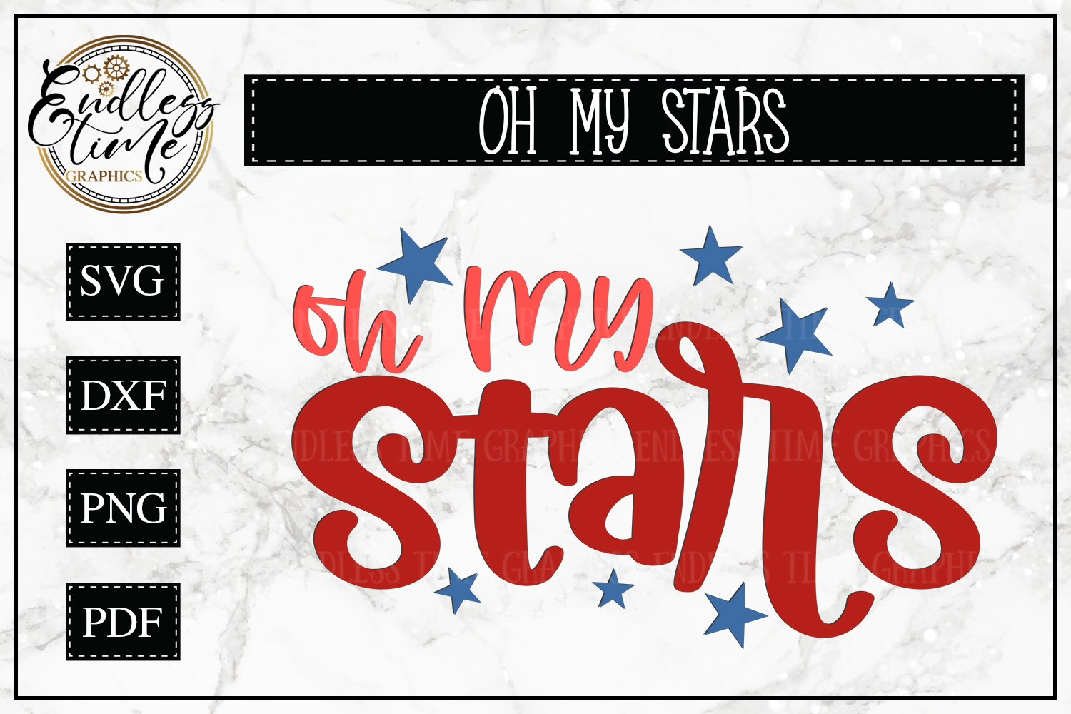 4th of July Bundle Volume 3 | A Red White & Blue SVG Bundle example image 13