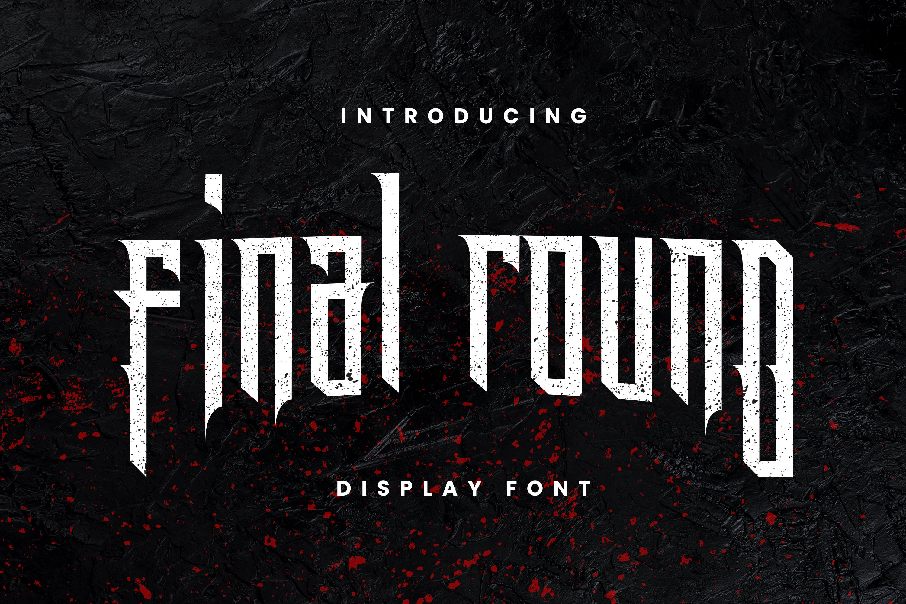 Final Round Font example image 1