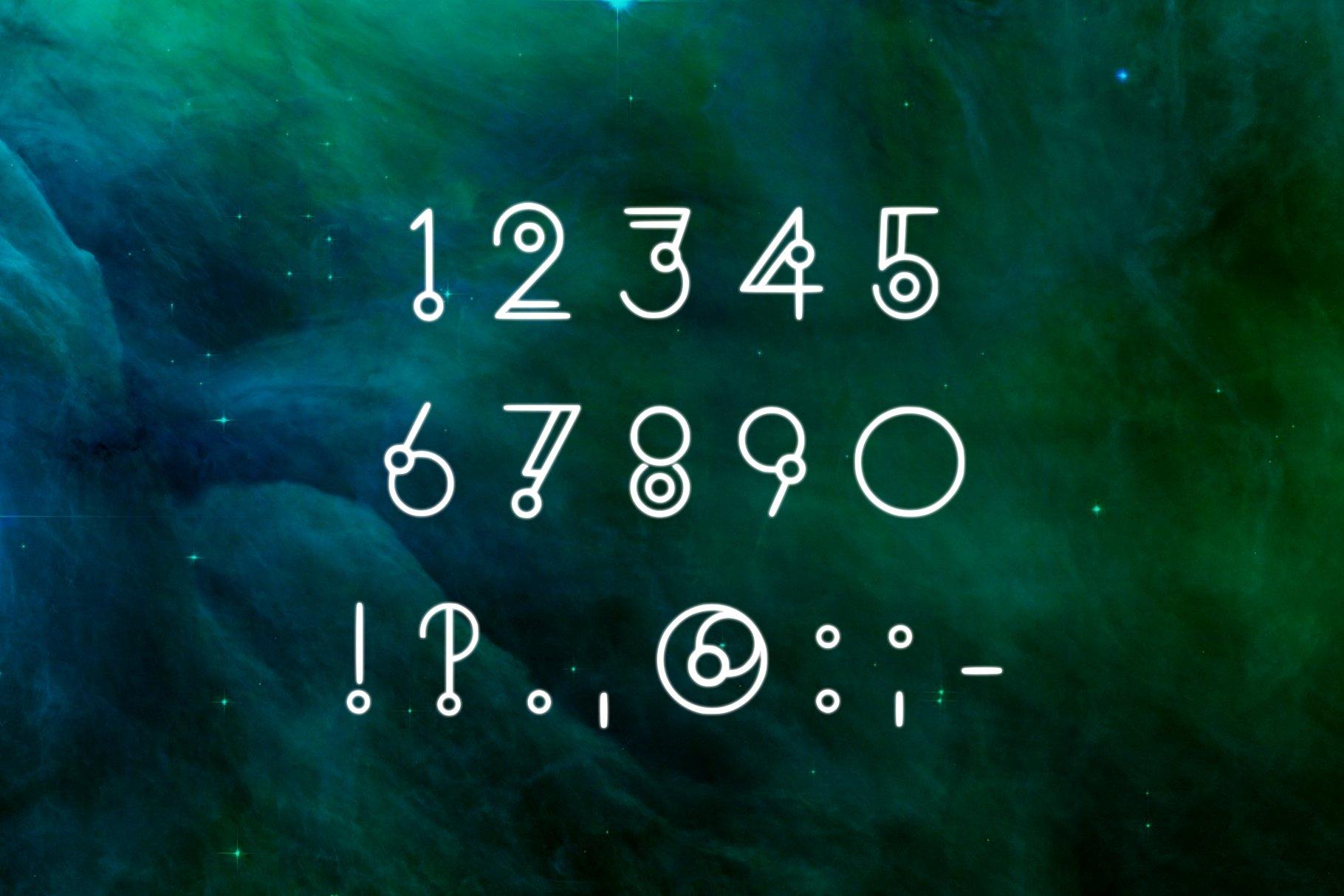 HORIZON - A Display Font example image 2