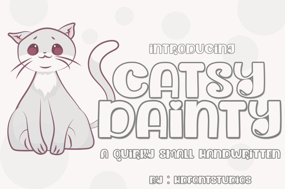 Dainty Catsy example image 2