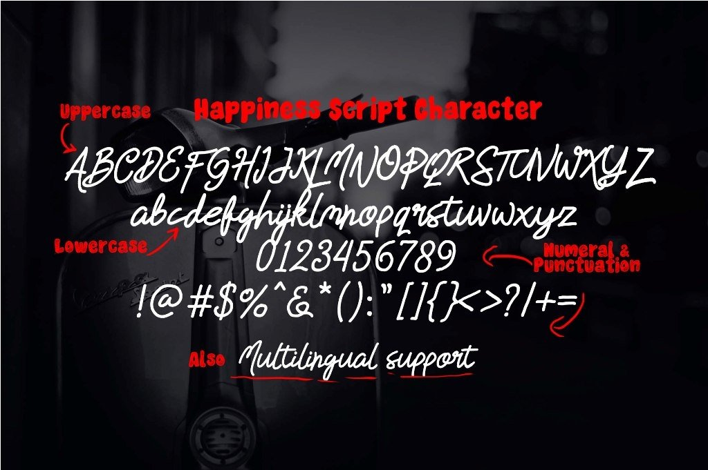 HAPPINESS FONT DUO example image 4
