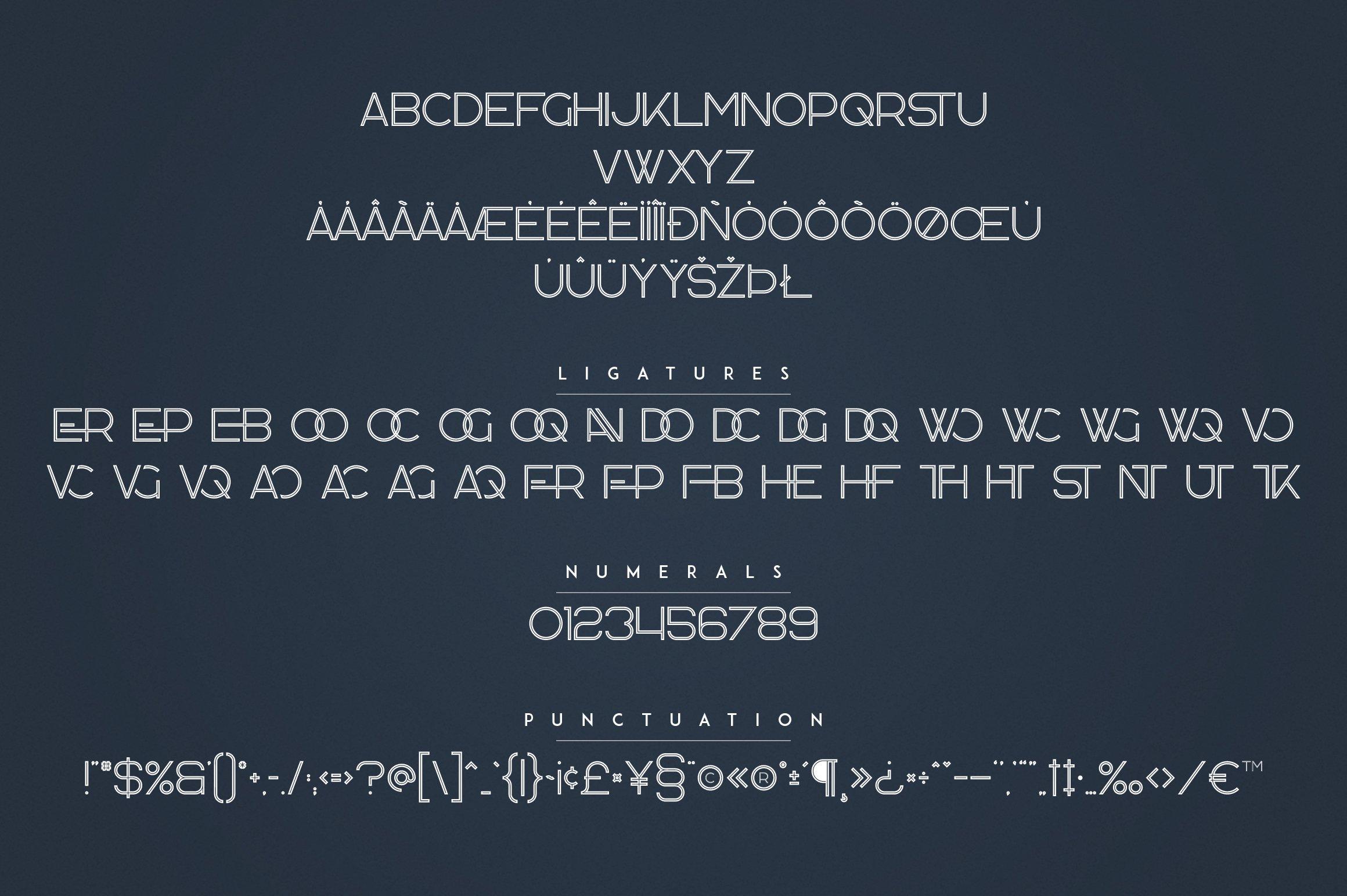 Kavo Family - 17 fonts 24 logos example image 19