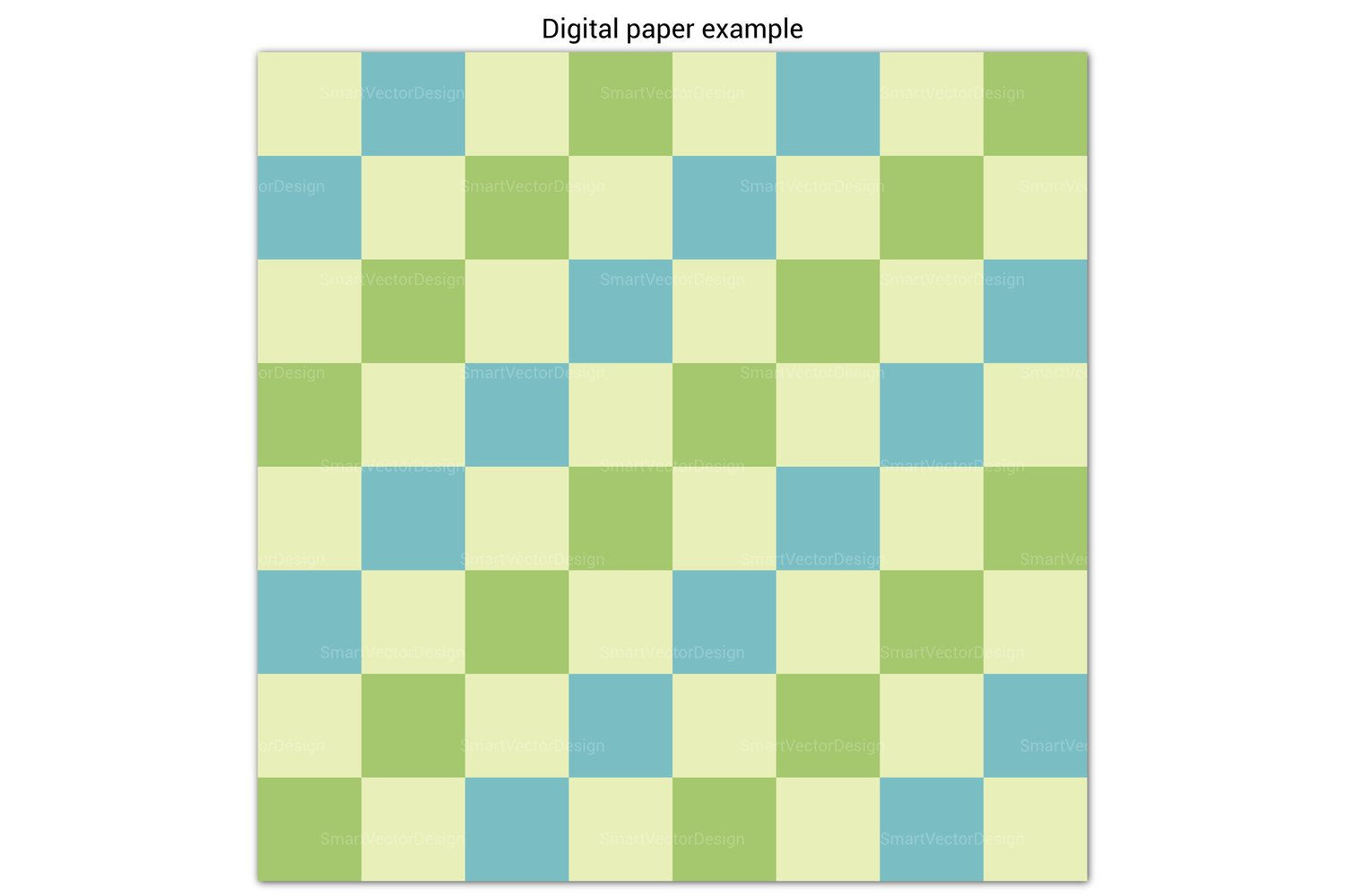 Very Large Checkered Paper 100 Pastel Three Color Combos 804061 Patterns Design Bundles