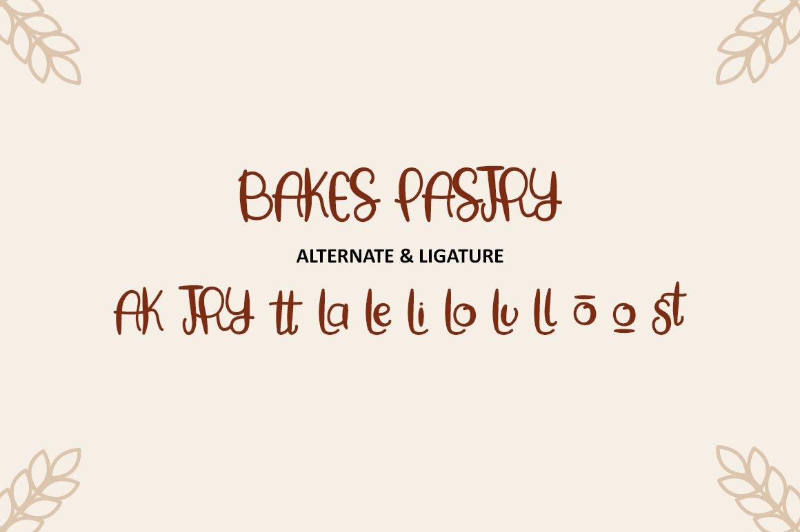 Baking Pastry - Handwritten Font example image 7