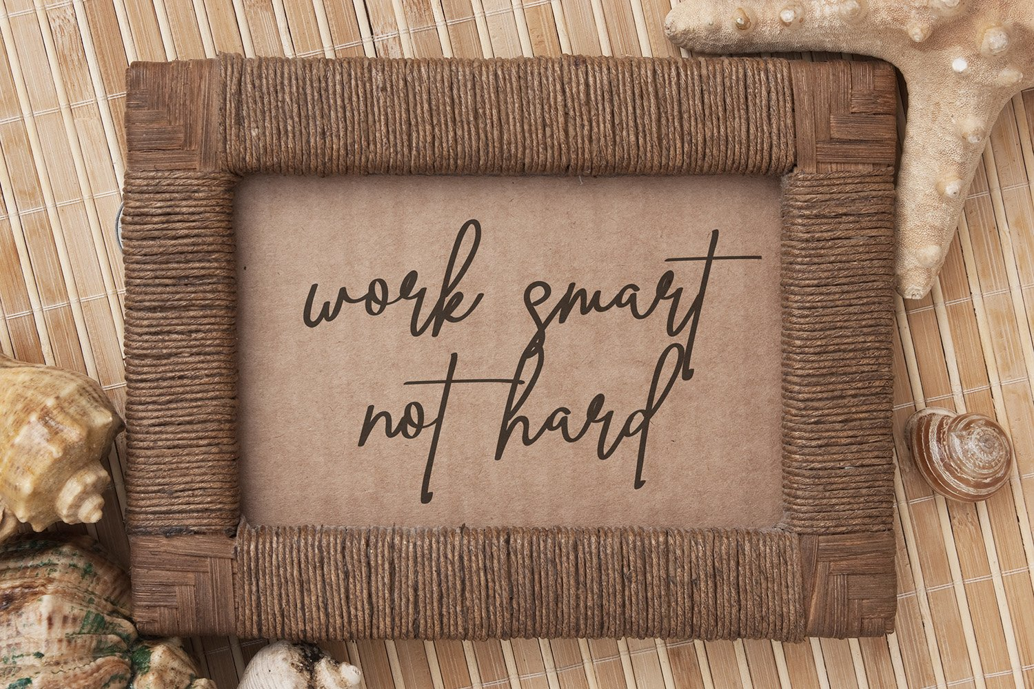 Ving Smith - Handwritten Font example image 13