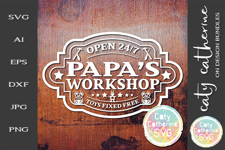 Download Papa S Workshop Open 247 Toys Fixed Free Svg Cut File 267079 Svgs Design Bundles