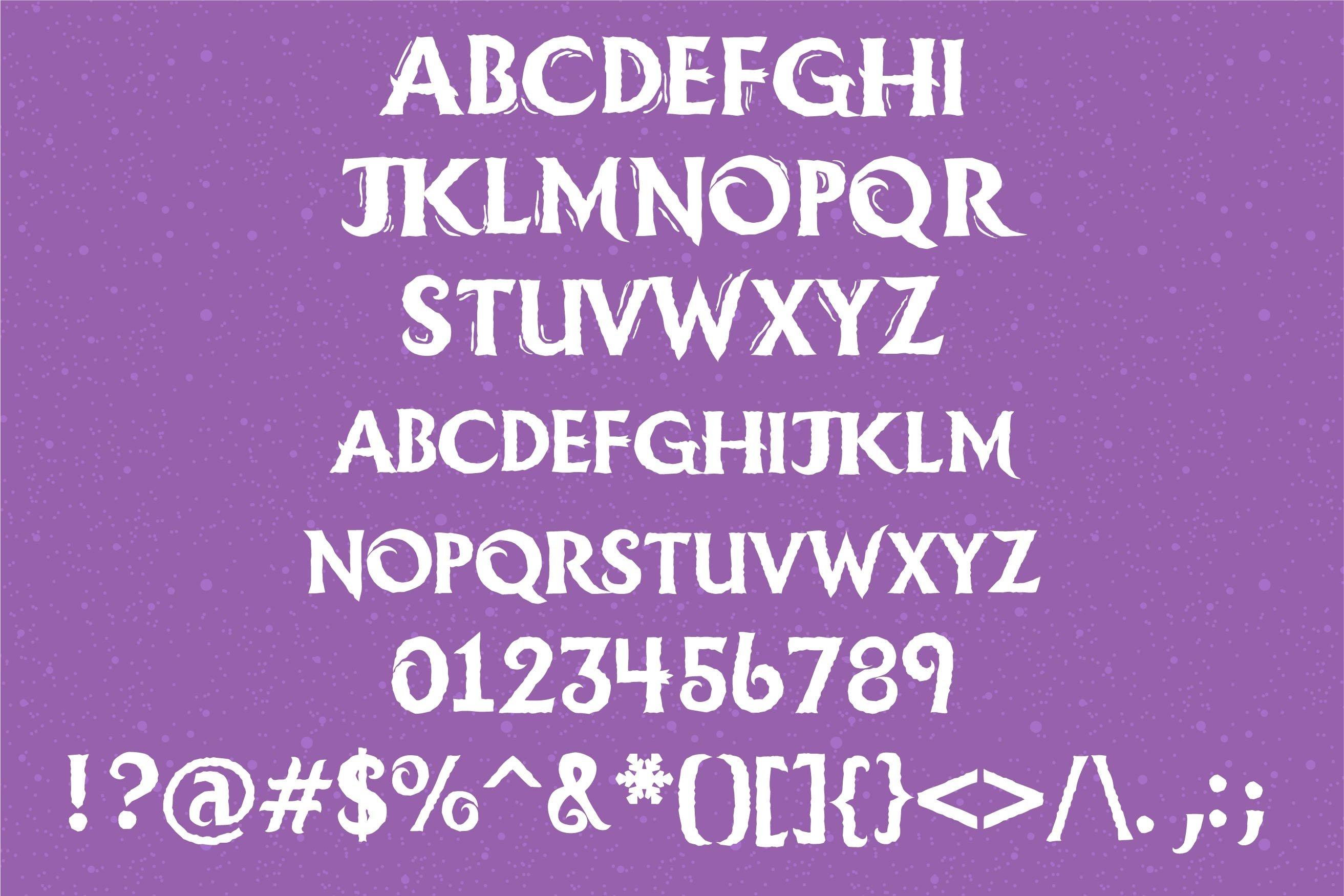 LD Ice Princess Font Duo example image 7
