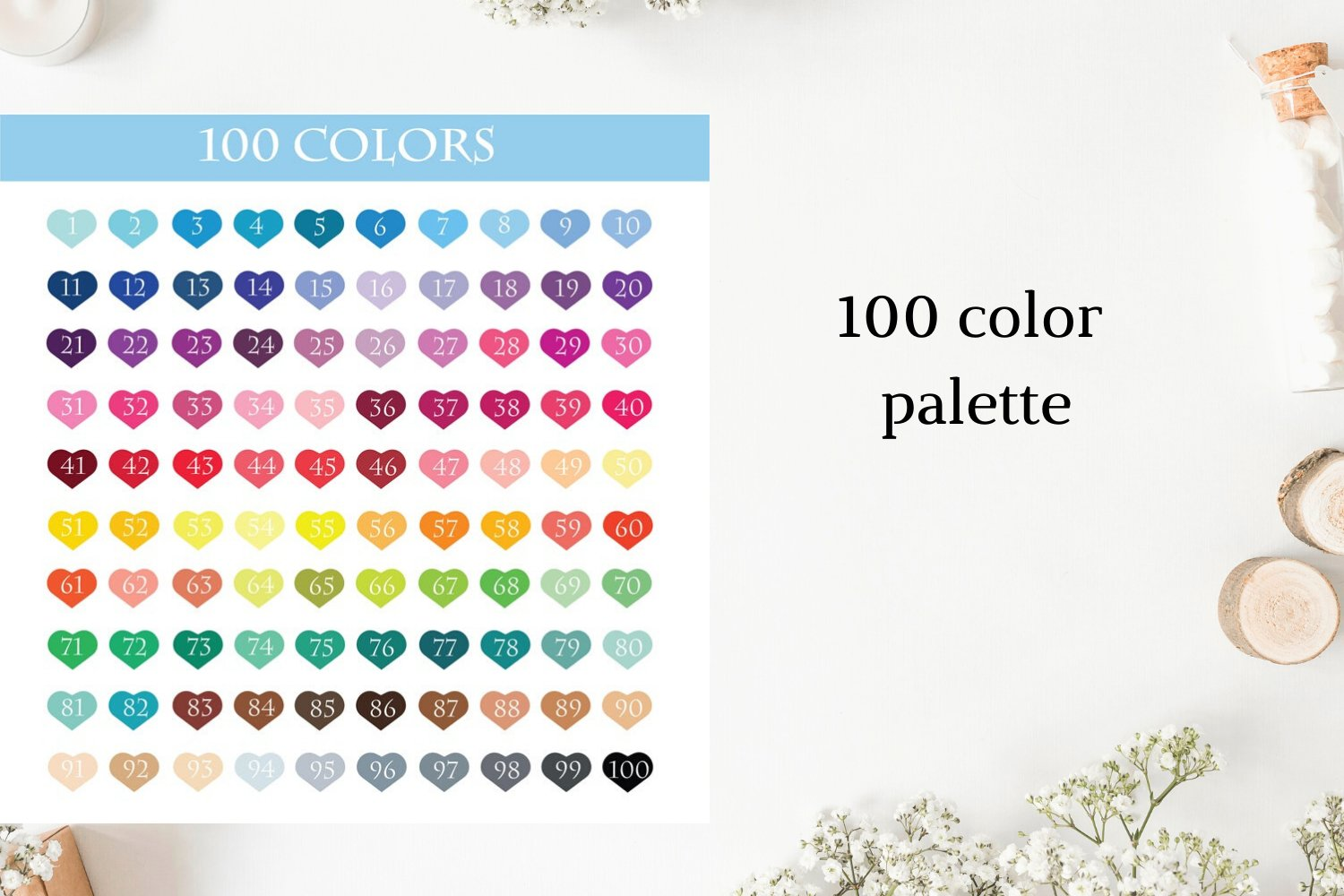 100 Today font clipart, Today sticker clipart, Today planner example image 3