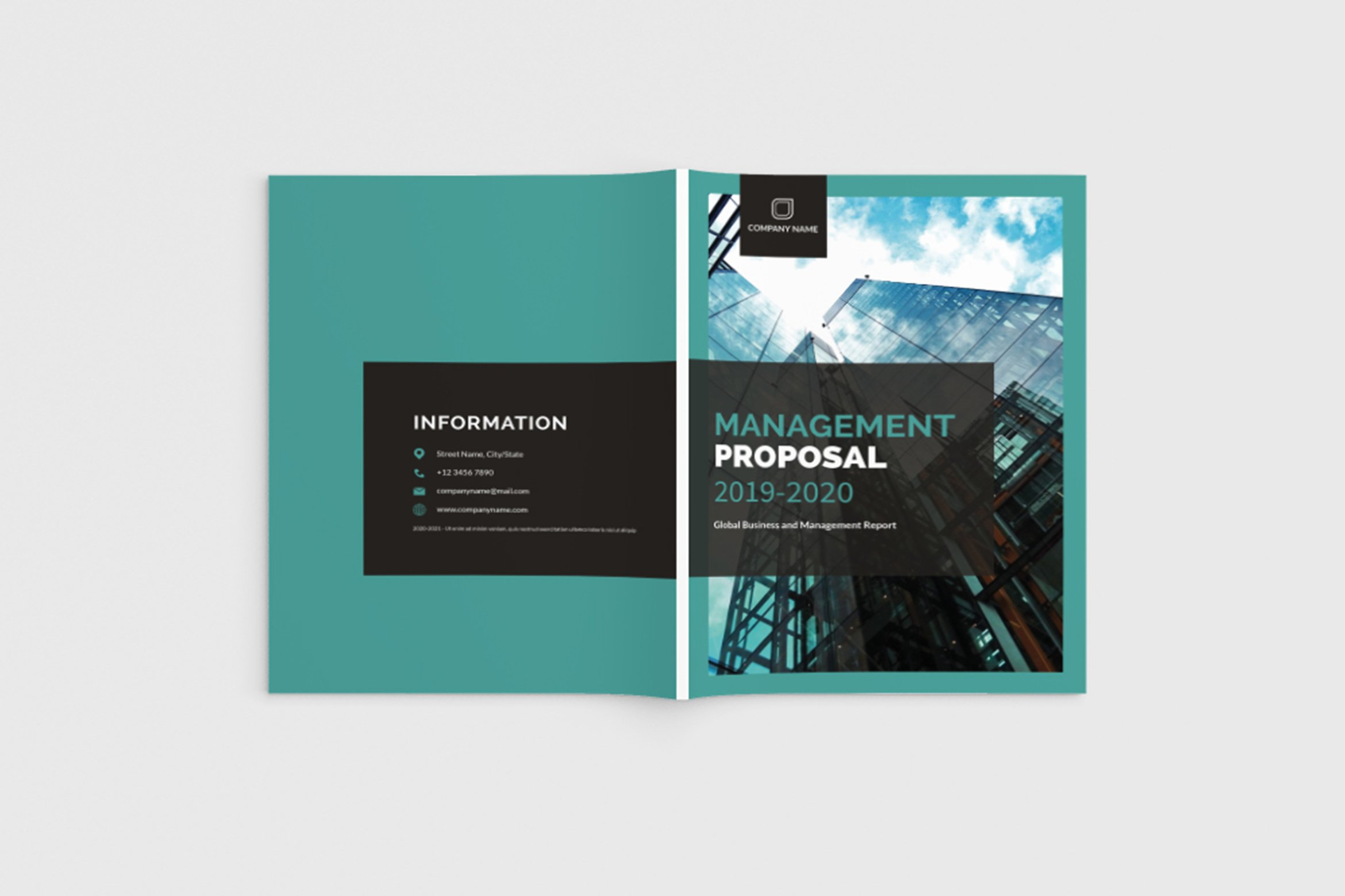 Mager - A4 Management Brochure Template example image 1