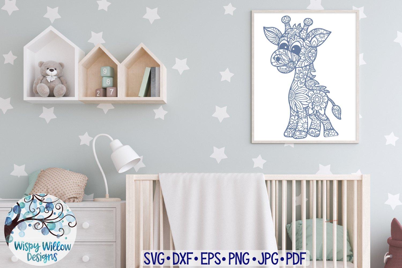 Amazing Animal Zentangle SVG Bundle Vol 3 | Animal Mandalas example image 4