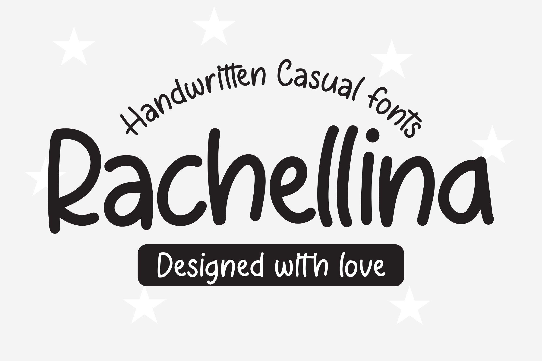 Rachellina - Handwritten Casual Font example image 1