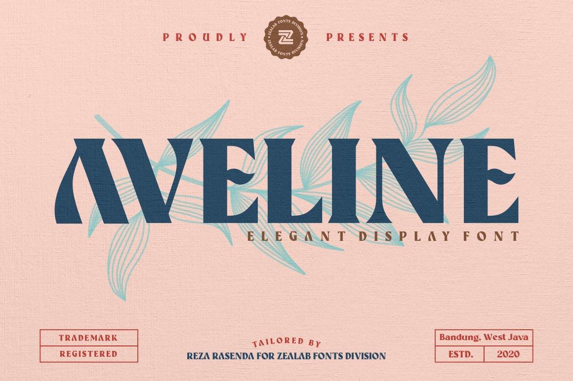 Aveline Elegant Font example image 1
