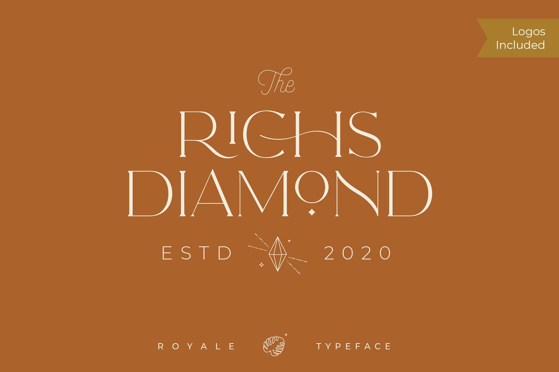 Royale Luxurious Typeface example image 7