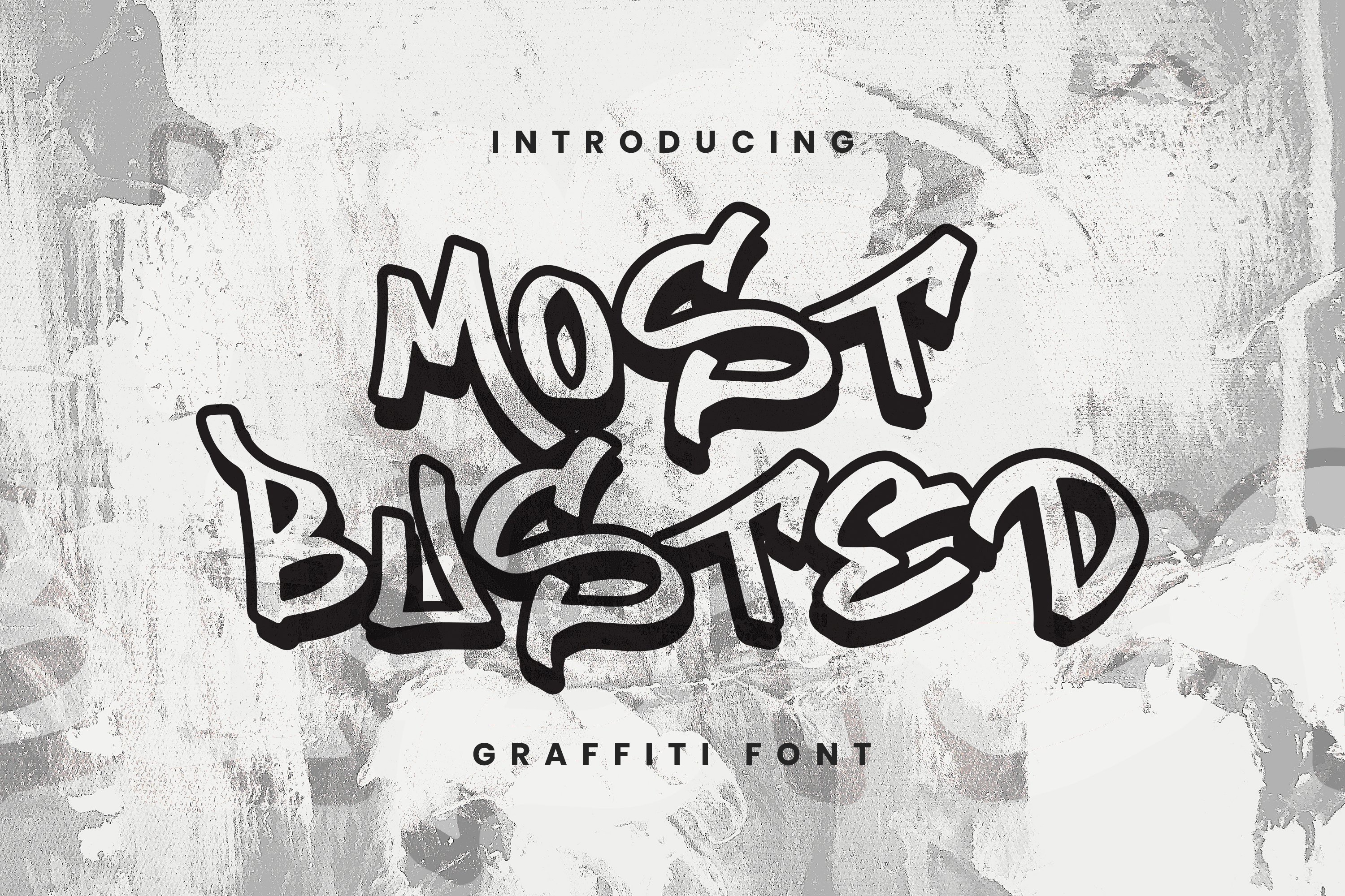 Most Busted Font example image 1