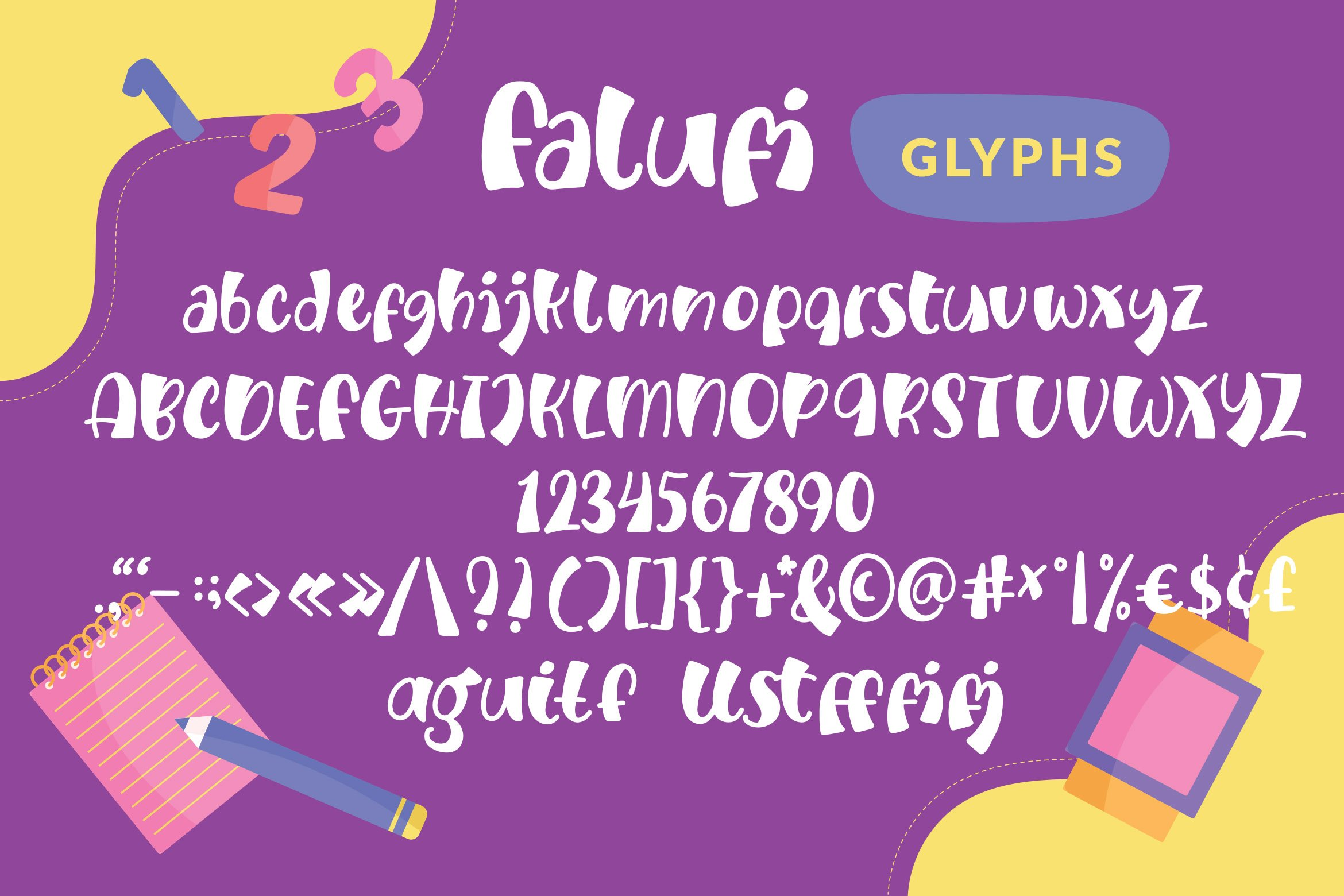 Falufi - Fancy Fonts example image 5