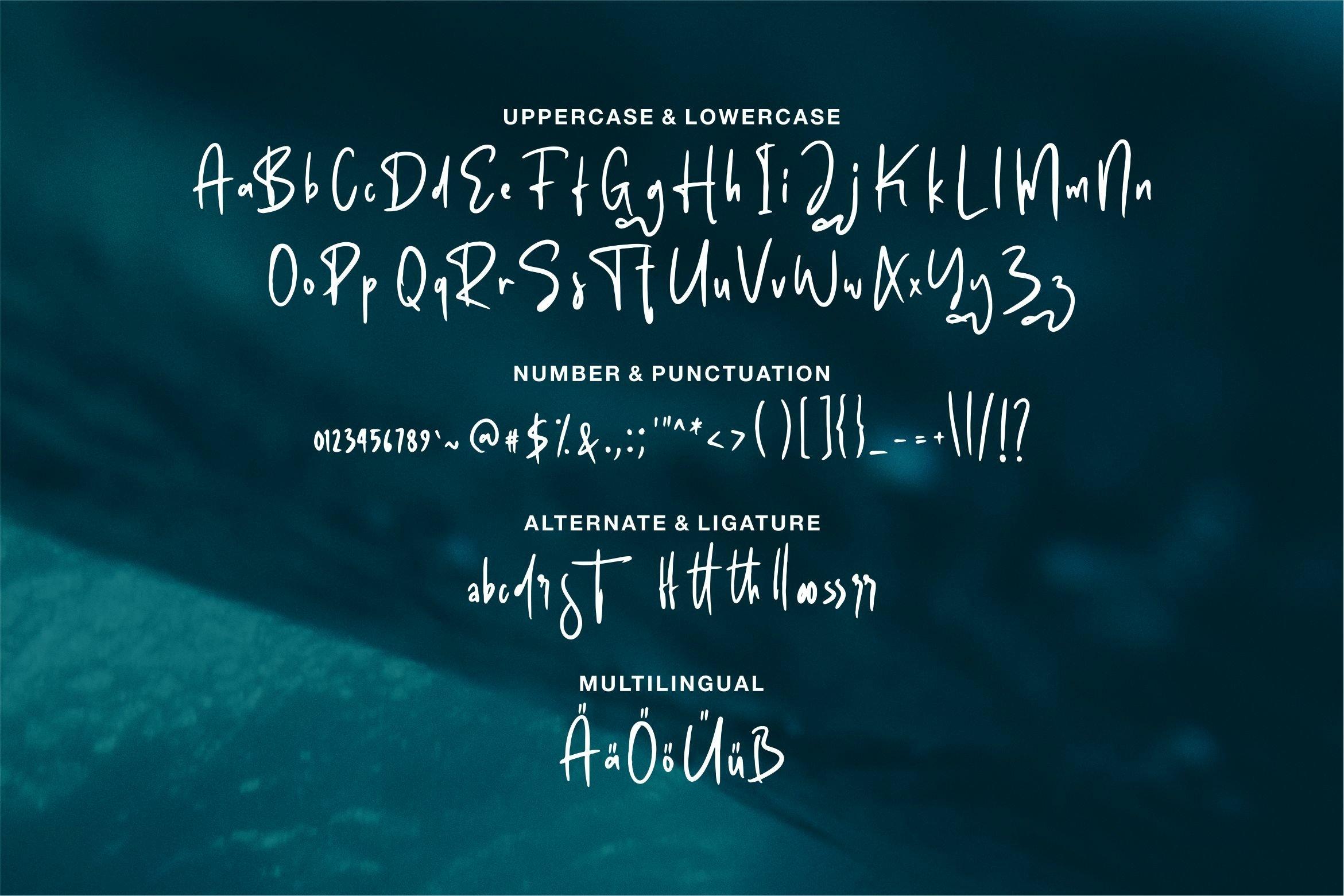 Salvador - A Handwritten Font example image 4