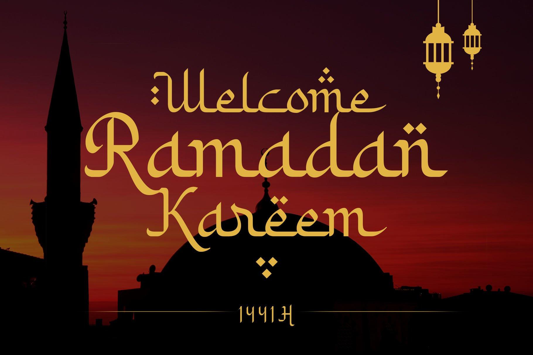 Khodijah - Arabic Style example image 4