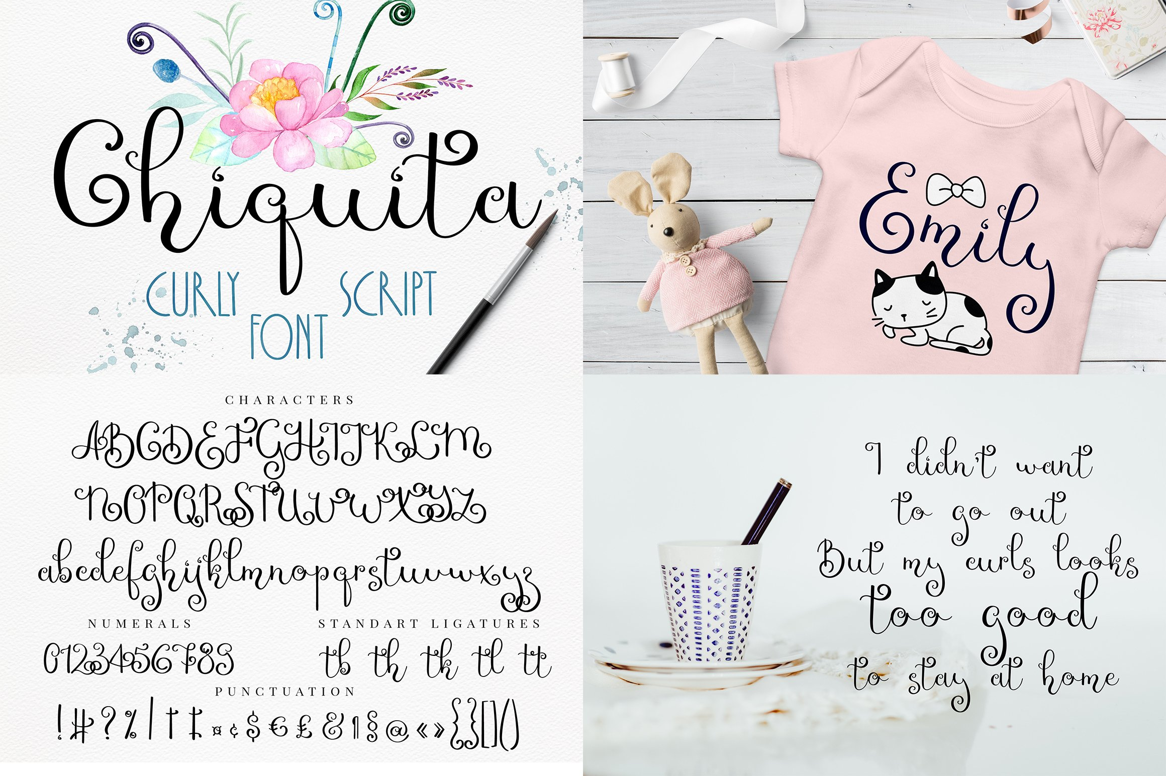 Font bundle - 6 handwritten and calligraphy fonts example image 6