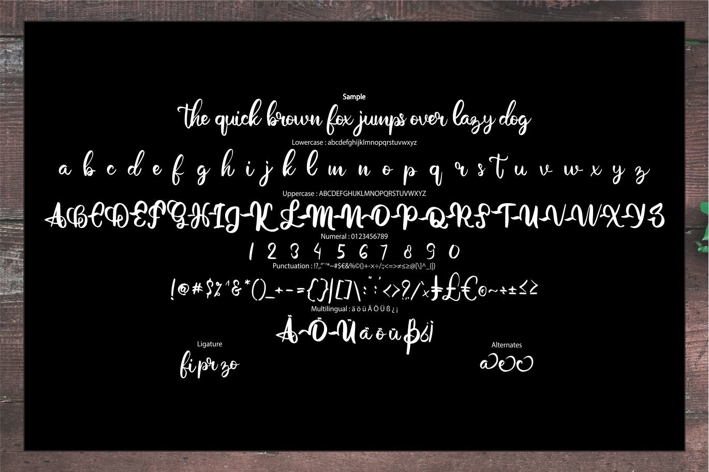 Gotre | Script Font example image 6