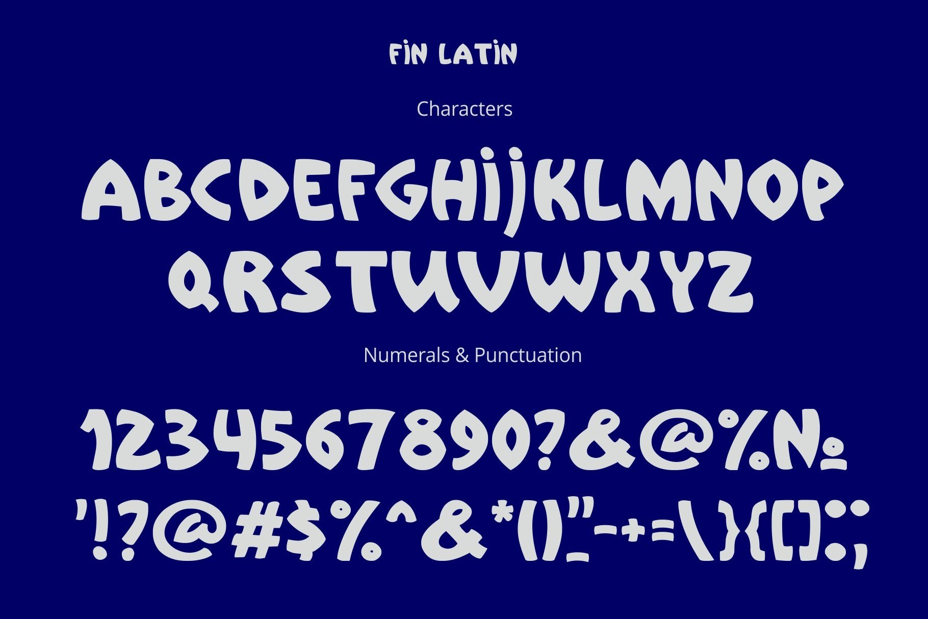 Fin Font example image 2