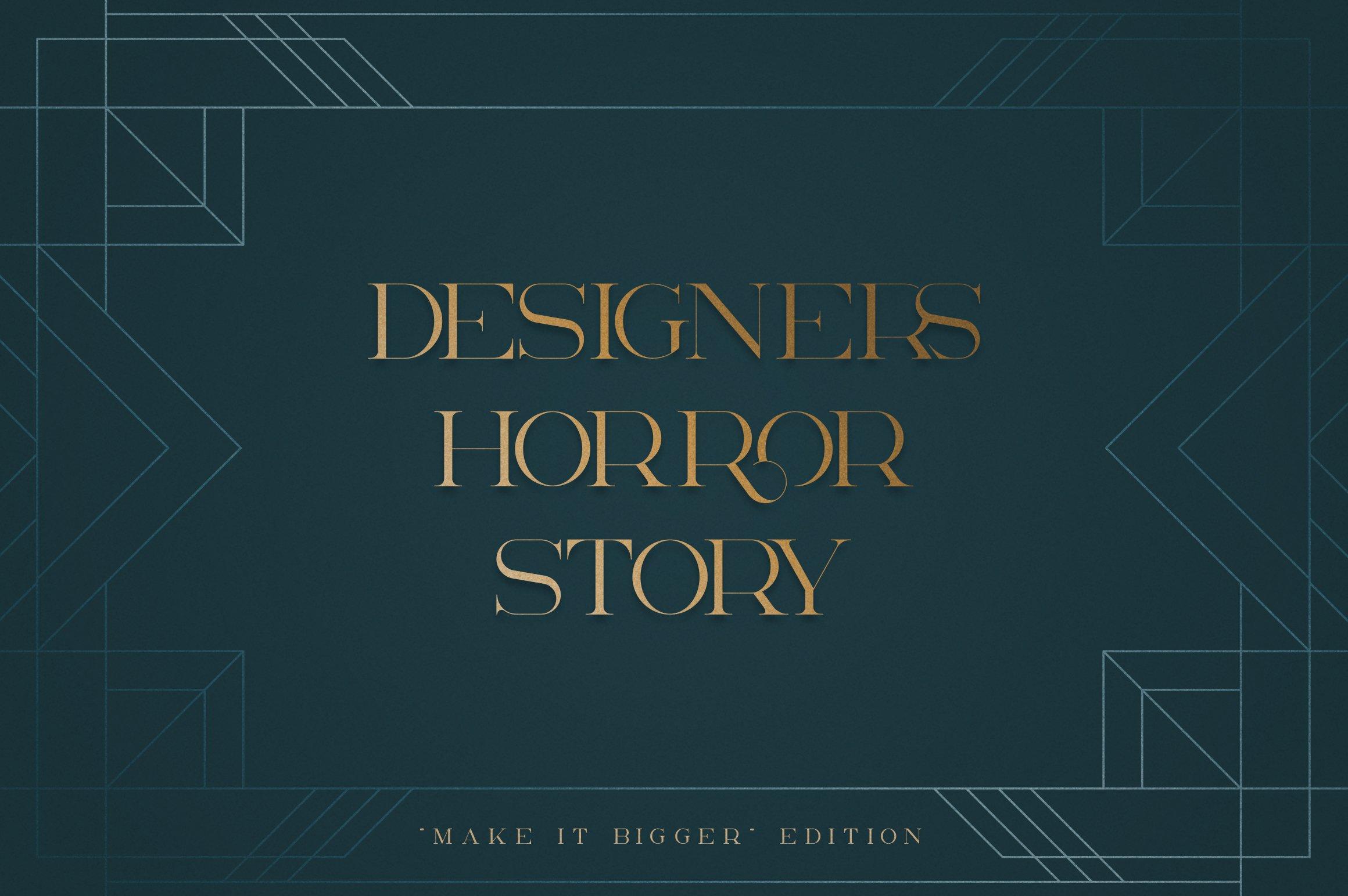 Akros - Art Deco Serif Extras example image 2