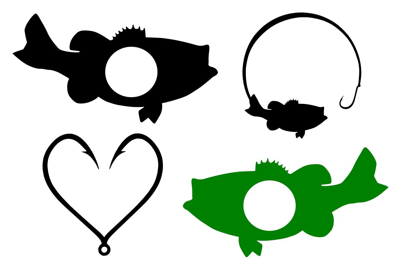 Download Fish Monograms Svg 62719 Svgs Design Bundles