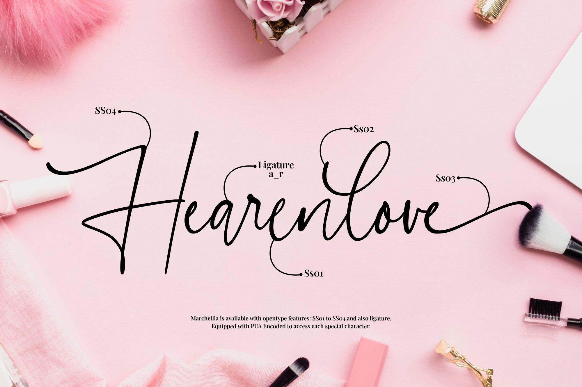 Marchellia - Modern Handwritten Font example image 6