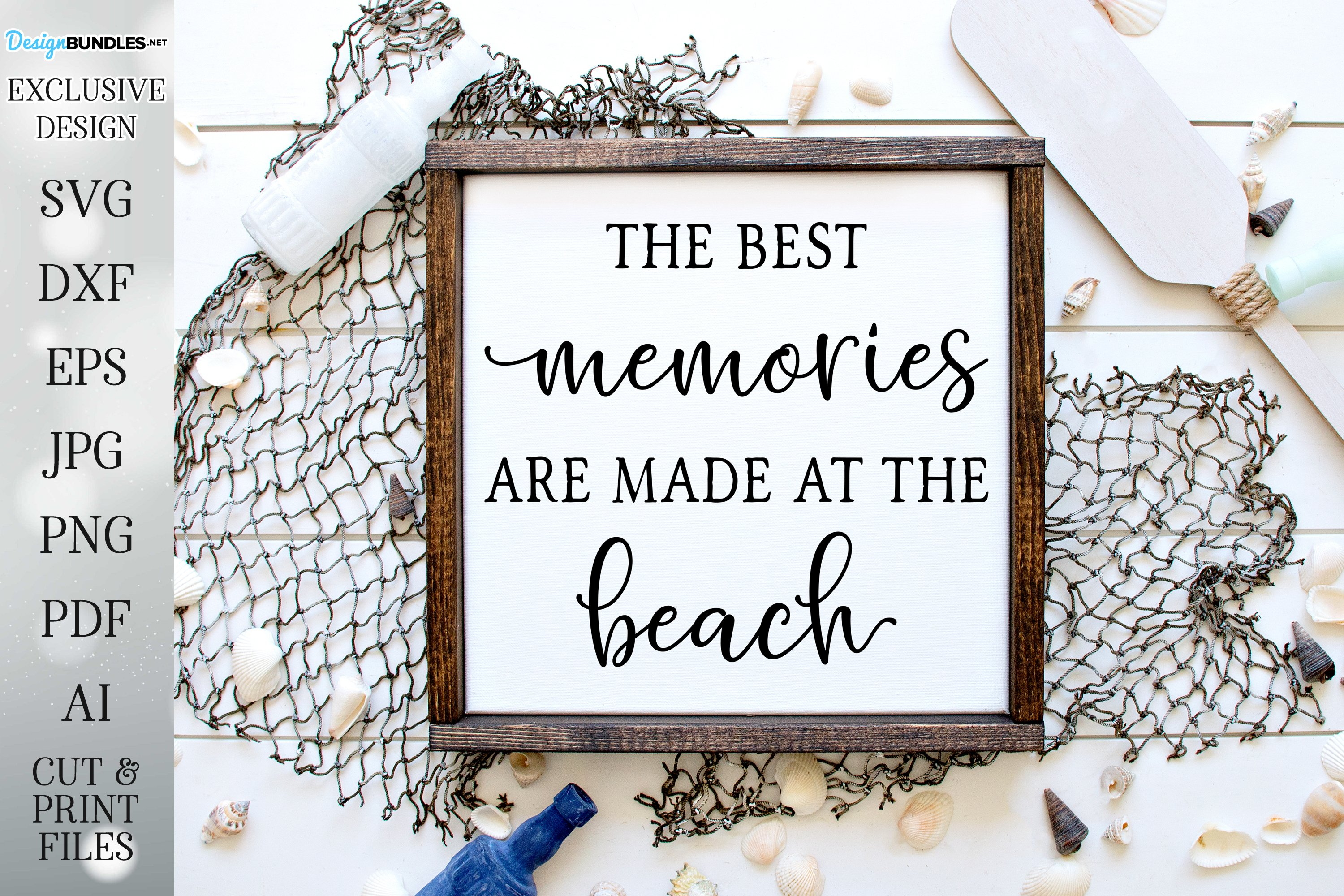 The Best Memories Are Made At The Beach example image 1