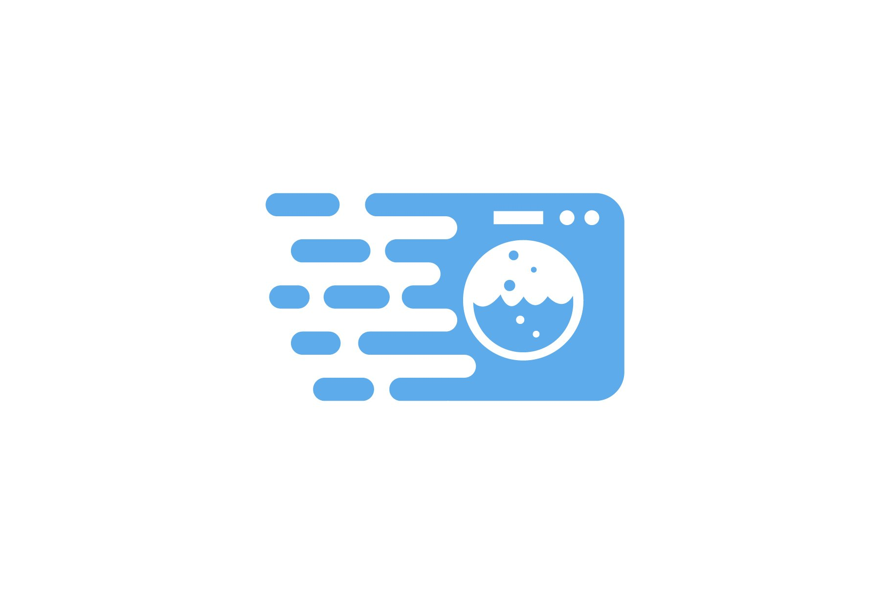 fast laundry logo 333305 logos design bundles fast laundry logo