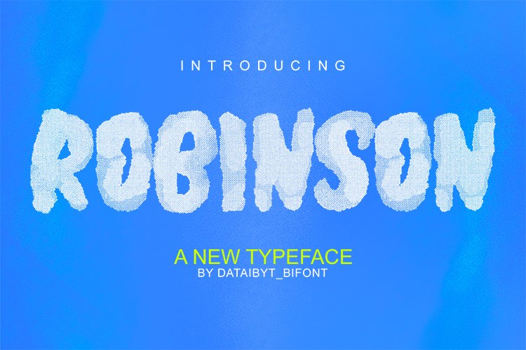 ROBINSON FONT example image 1