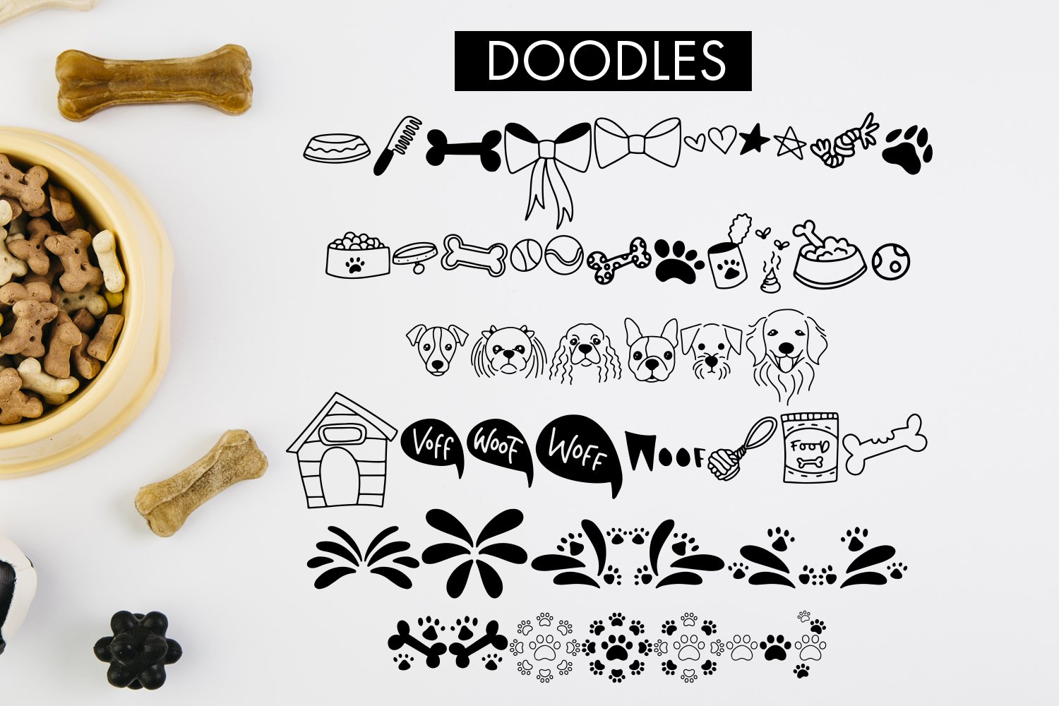 Dolores The Schnauzer - Different Designs With Bonus Doodles example image 7