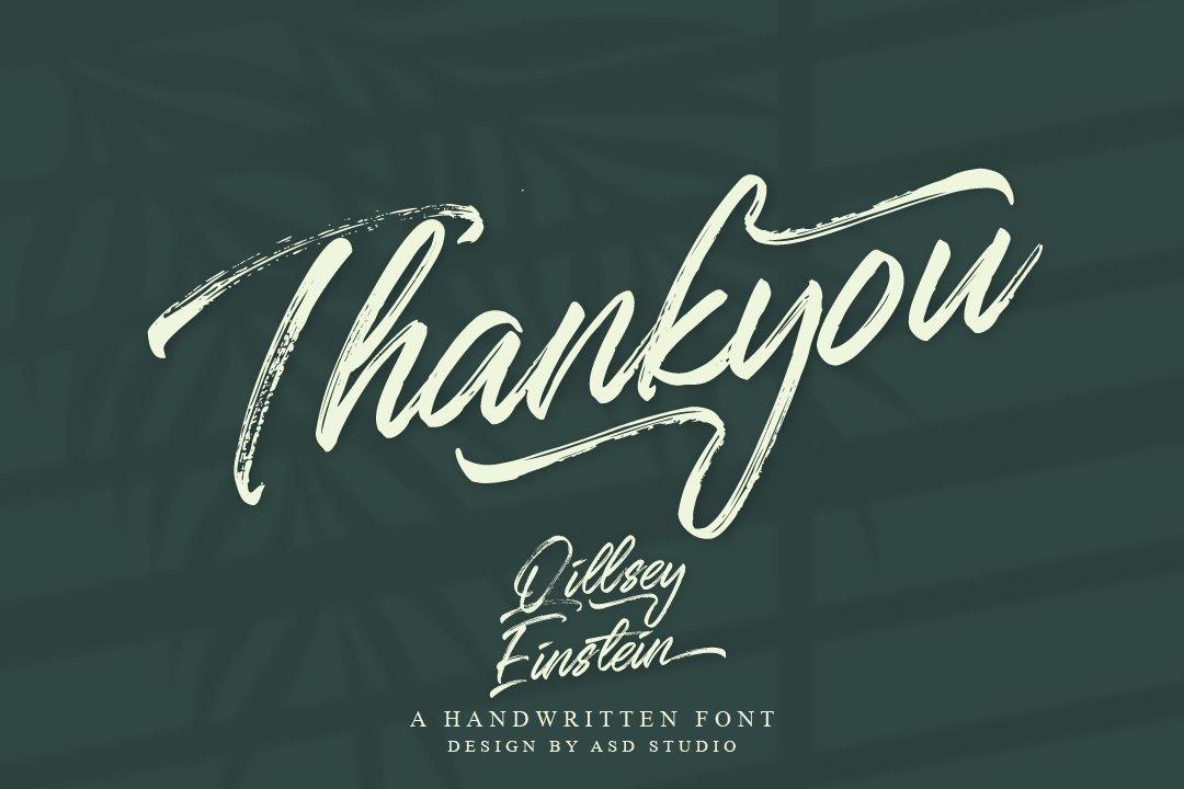Qillsey Einstein - A Handwritten Font example image 3