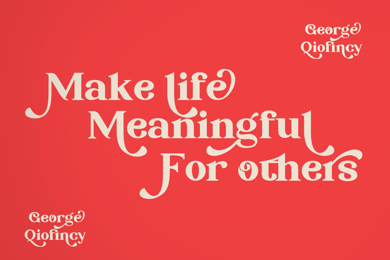 George Qiofincy example image 3