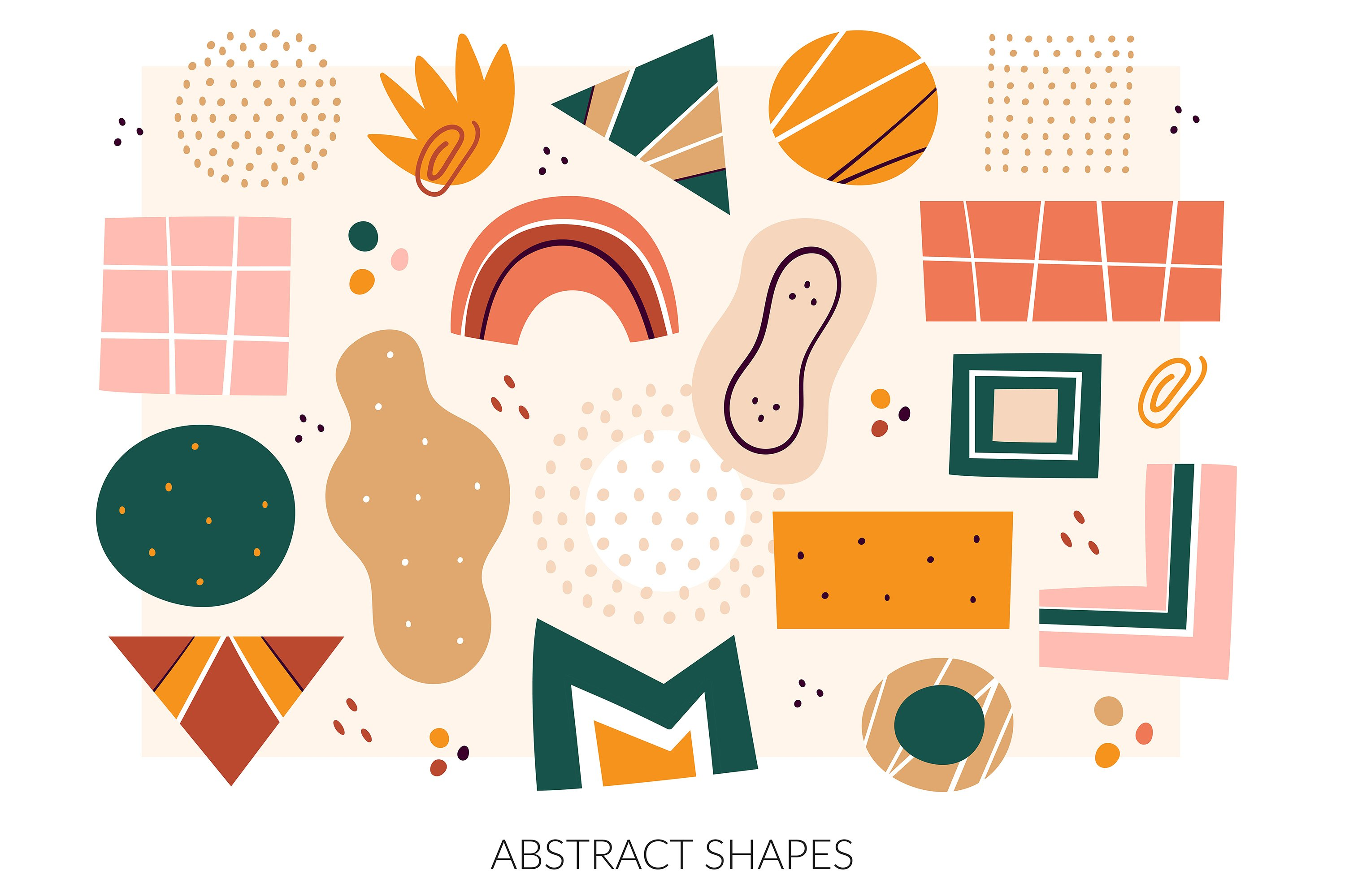 Abstract Shapes Clipart Digital Prints Hand Drawn Vector 561869 Elements Design Bundles We hope you enjoy our growing collection of hd images to use as a background or home screen. abstract shapes clipart digital prints hand drawn vector