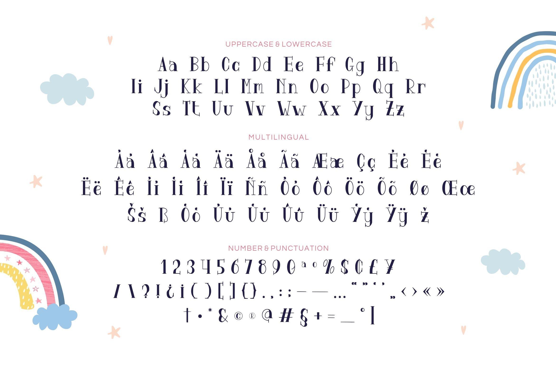 Kinagara Display Font example image 3