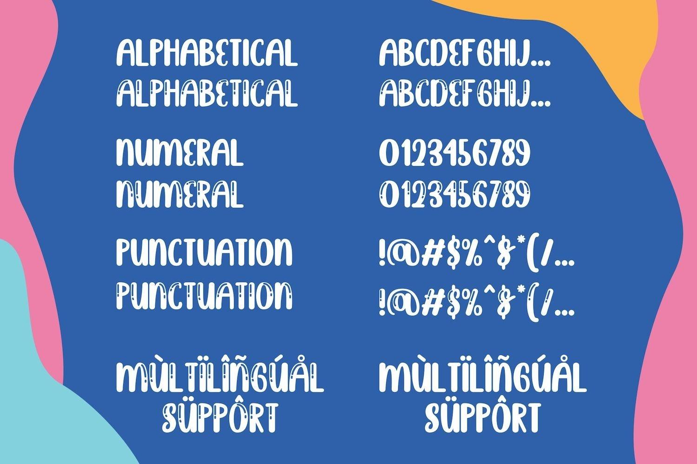 Brightly Crush - Playful Typeface example image 14