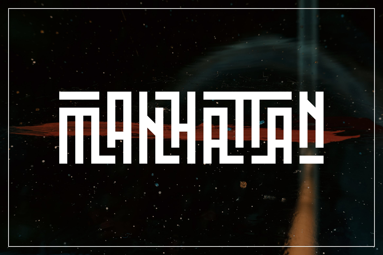 Musashi | Display Ligature Font example image 5