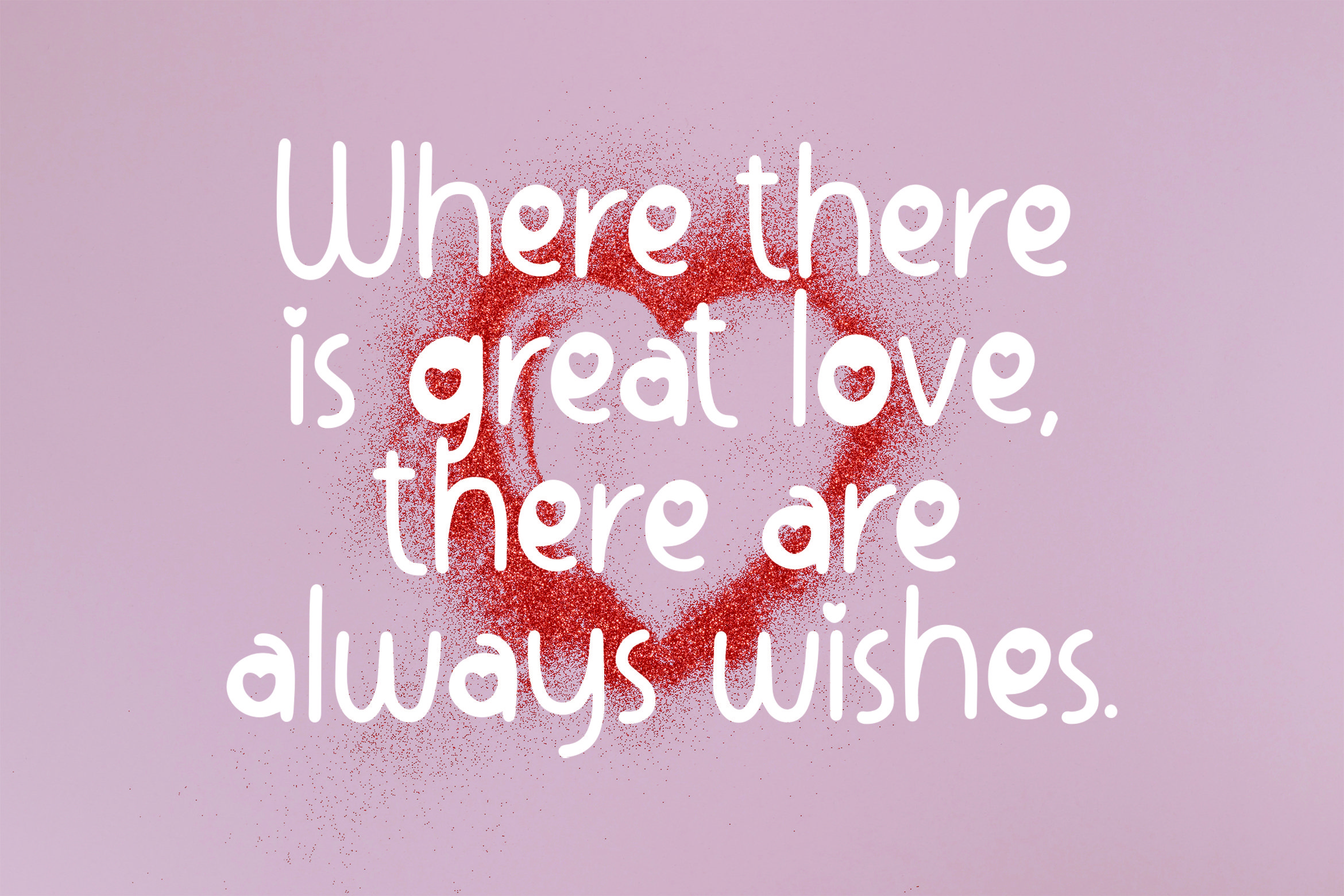 Lovable - Sweet Valentine Font example image 5