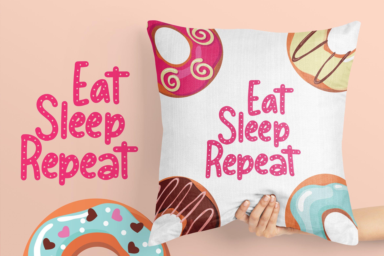 Meises - Doughnut Font example image 5