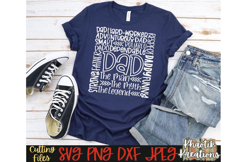 Dad Svg Bundle, Dad Svg, Fathers Day Svg, Funny Dad Svg example image 2