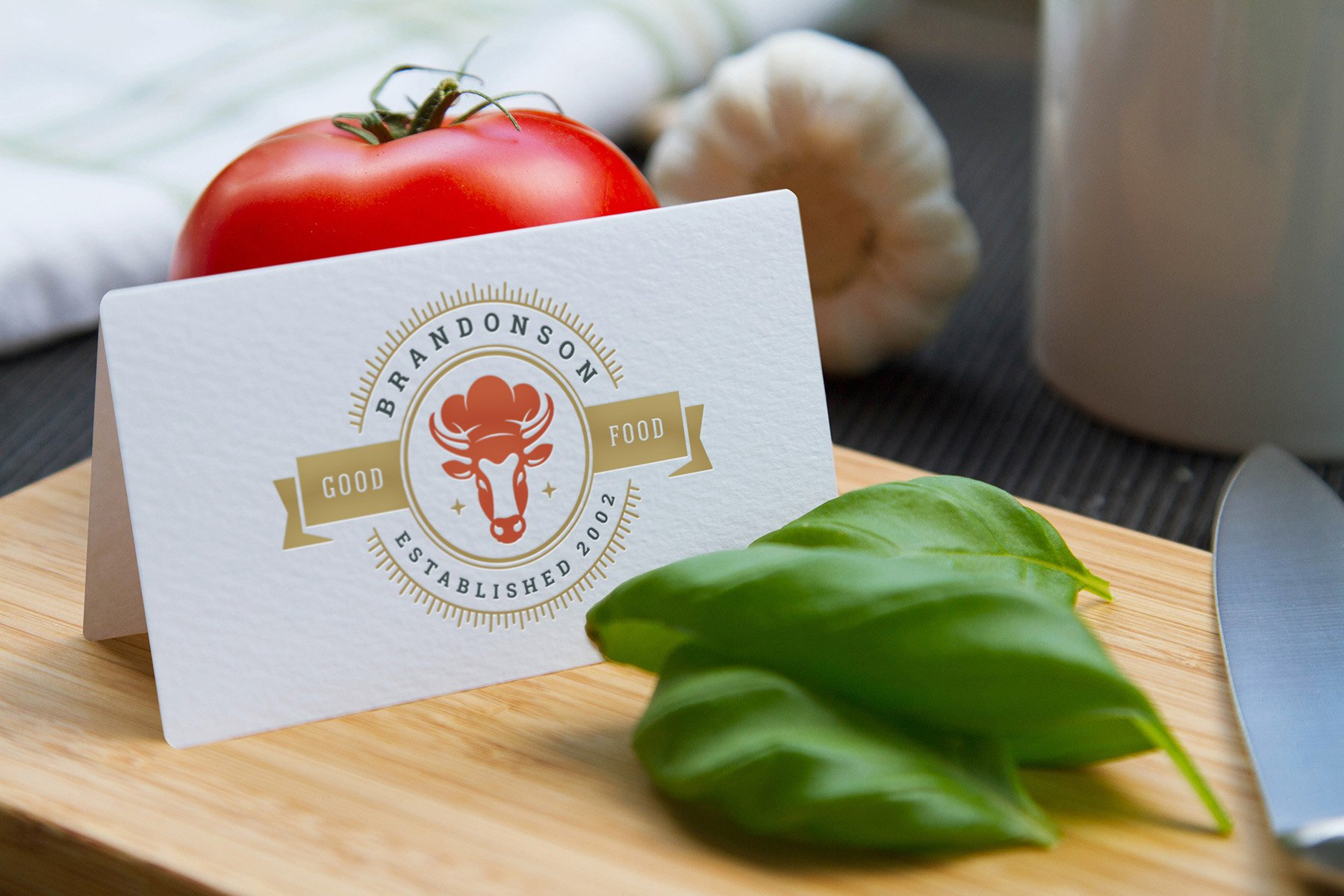 36 Restaurant Logos and Badges example image 11