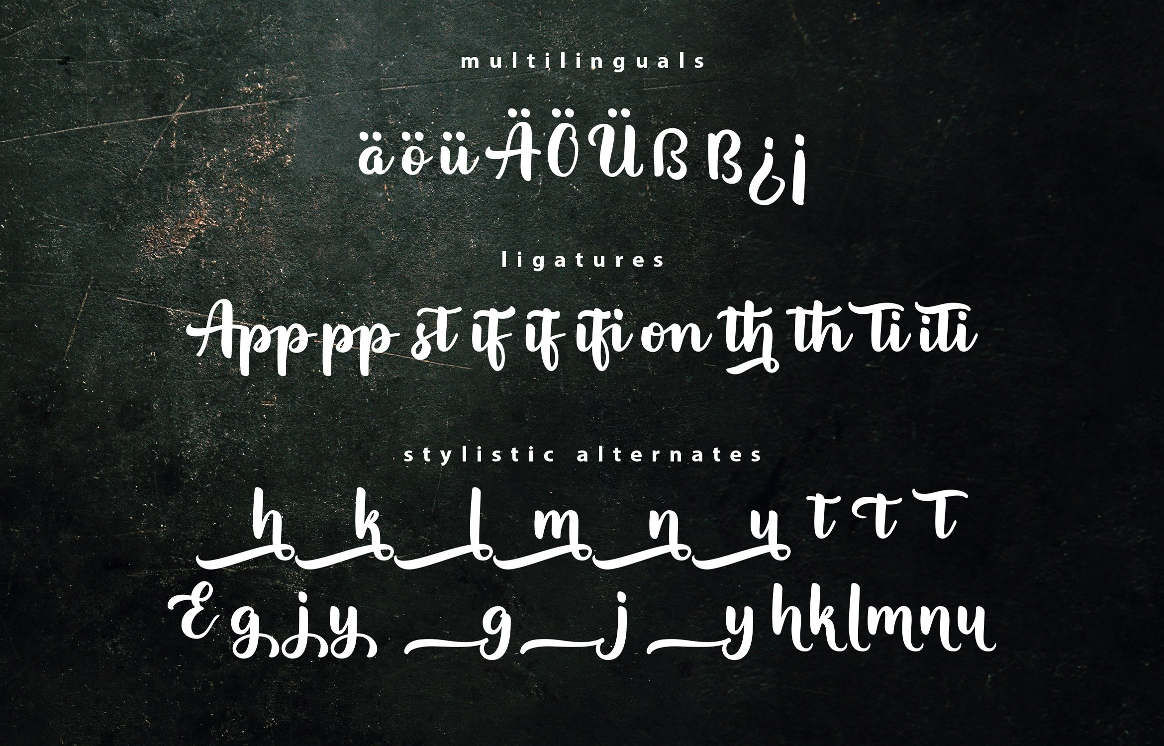 Appetizer | Modern Script Font example image 7