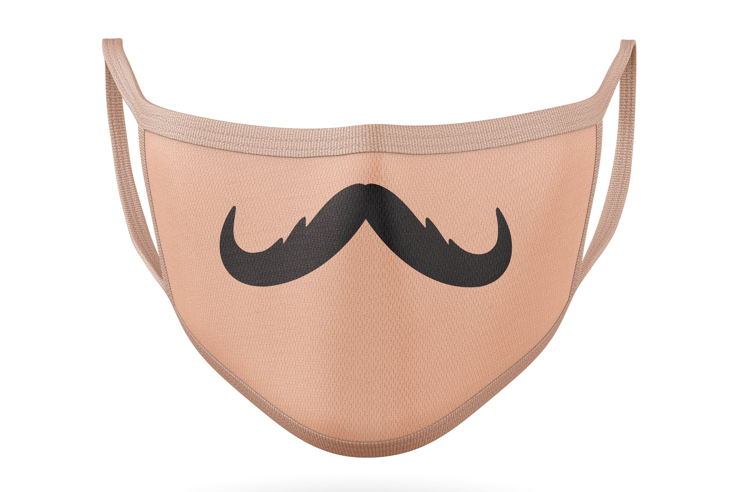10 Funny Mustaches for Masks - SVG Cut Files example image 3