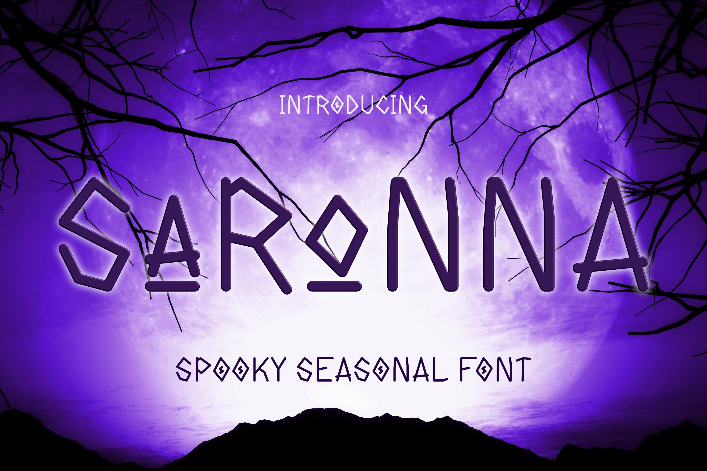 Saronna Font example image 1