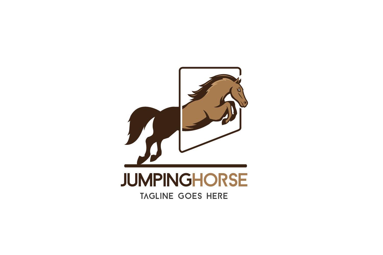Jumping Horse 258668 Logos Design Bundles