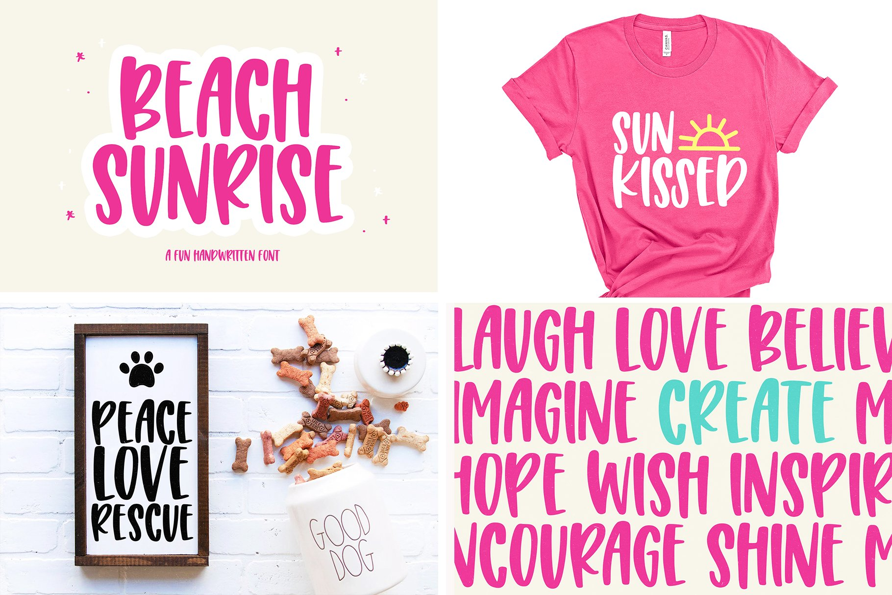 Font Bundle - Handwritten Fonts for Crafters! example image 6
