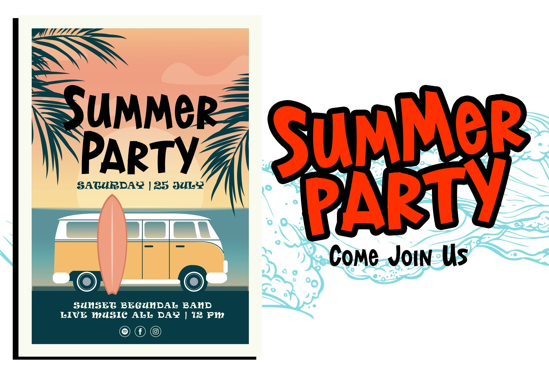 Lost Island - Summer Display Font example image 5