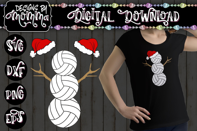 Download Volleyball Snowman Svg 409939 Cut Files Design Bundles