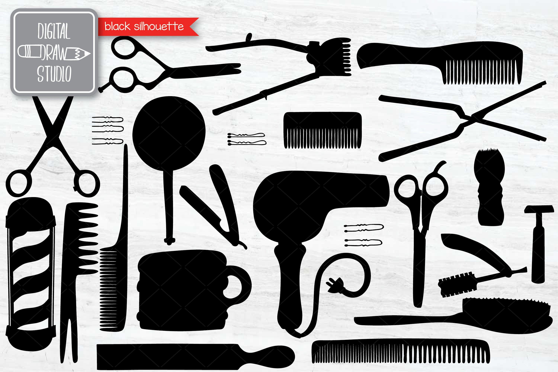 Hand Drawn Vintage Barber Shop Doodles   Esp Png Svg Dxf Jpg example image 3